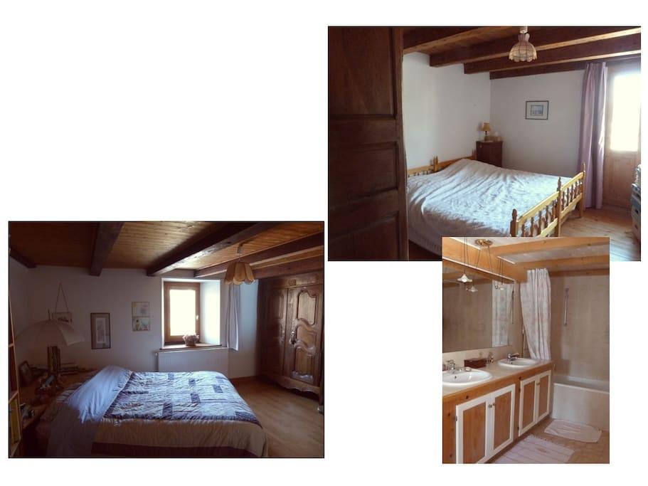 quelques vues des chambres et SdB