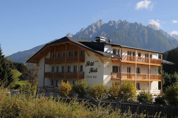 B&B im Herzen der Dolomiten