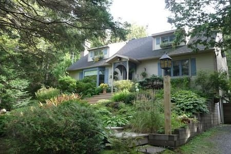 Spacious cottage with Lake view - Sainte-Anne-des-Lacs