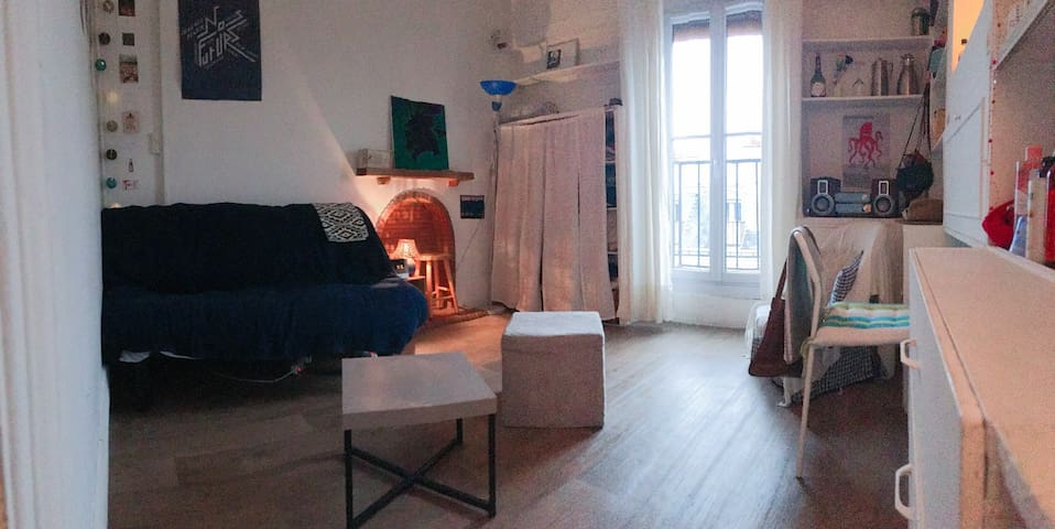 Cosy studio in the heart of Paris (5th arr.)
