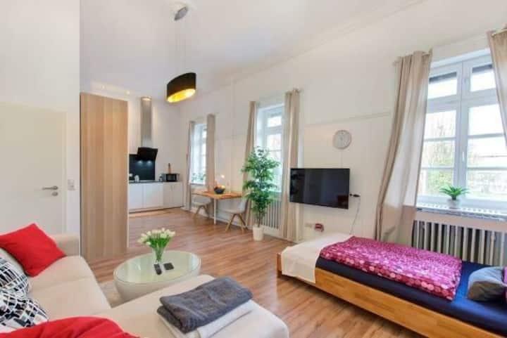 42 qm Jugendstil Apartment im Herzen der Stadt