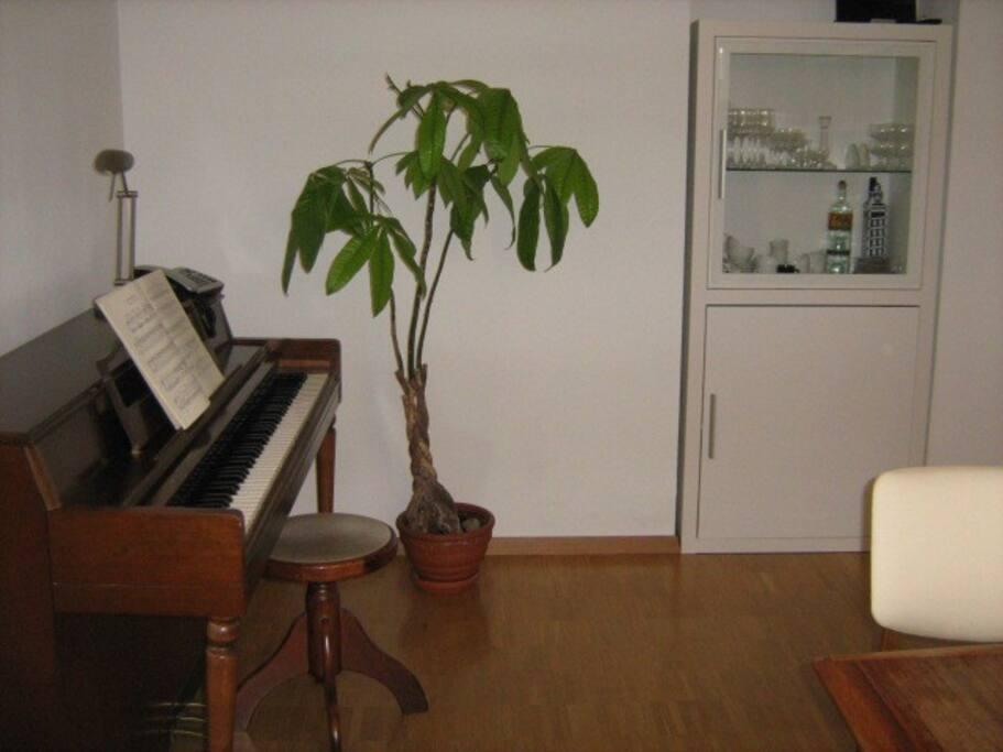 Klavier kann benutzt werden