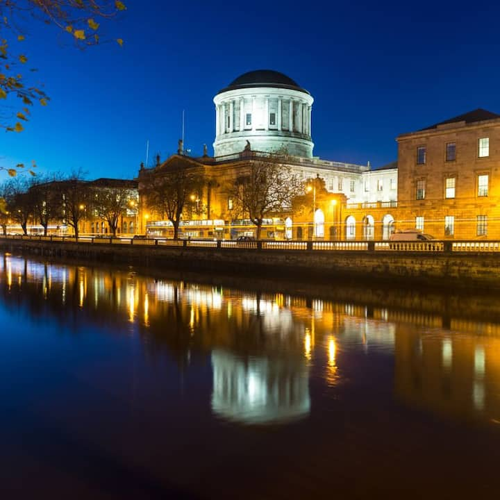 The Four Courts, Dublin...