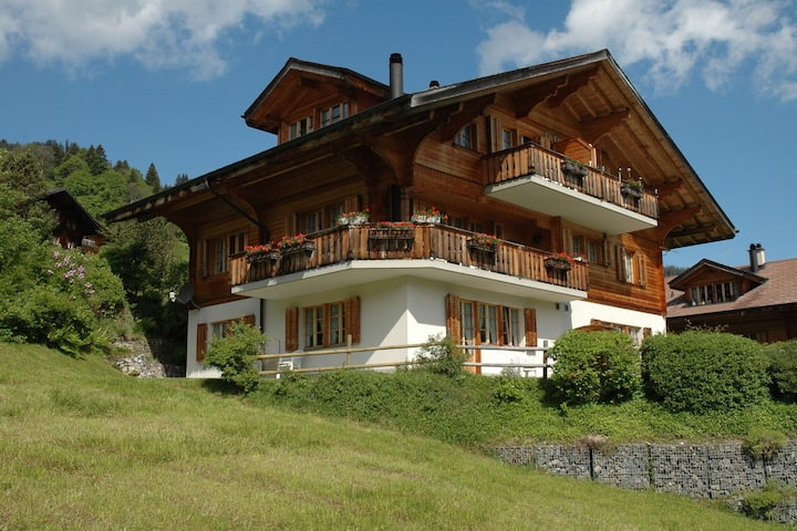 Luxurious Chalet in Habkern  with Private Garden