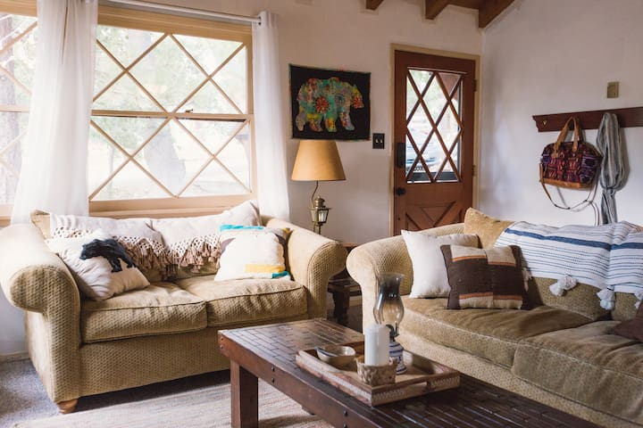 Comfy couches to snuggle up on, read your favorite book, or just take a long cat nap.