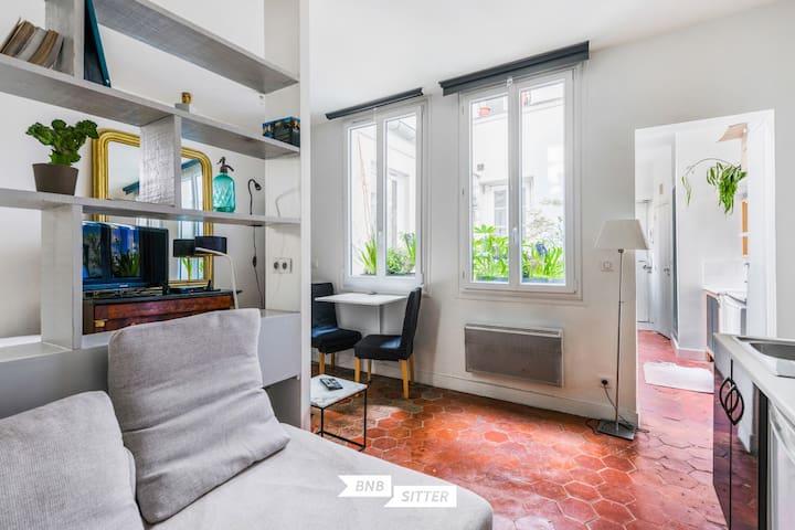 ★ Studio idéal pour un couple - Coeur de Paris