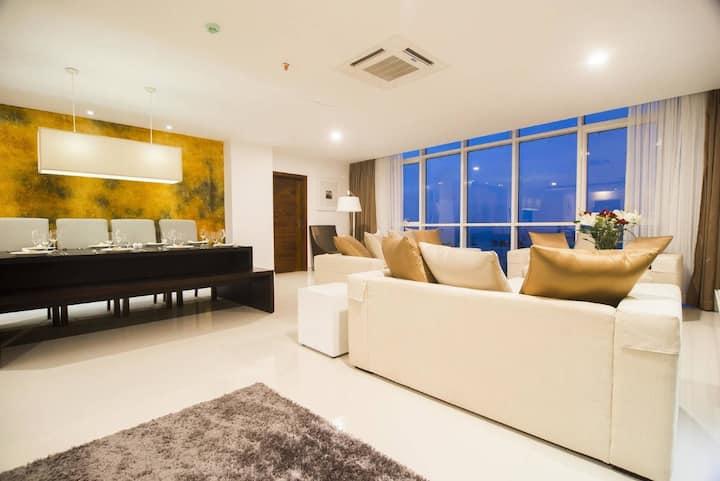 Premium City View 3-Bedroom Suite