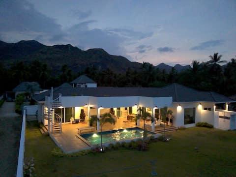 Peaks and Beaches. 5 bedroom villa.