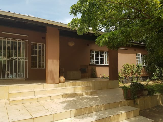 1-Bdrm in Peaceful, Tree-Covered House in Lilongwe