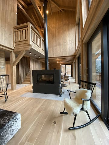 Mesanges B - Brand new chalet 6 bedrooms 6 bathrooms for up to 15 people