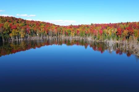 Amishk: site amérindien près de Montréal - Saint-Calixte - Tipi