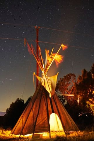 the Lost Horse Ranch Utah - Tipi