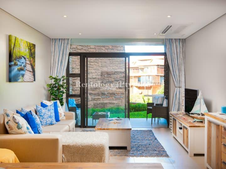Beautiful 1 Bed Zimbali Suites with Garden