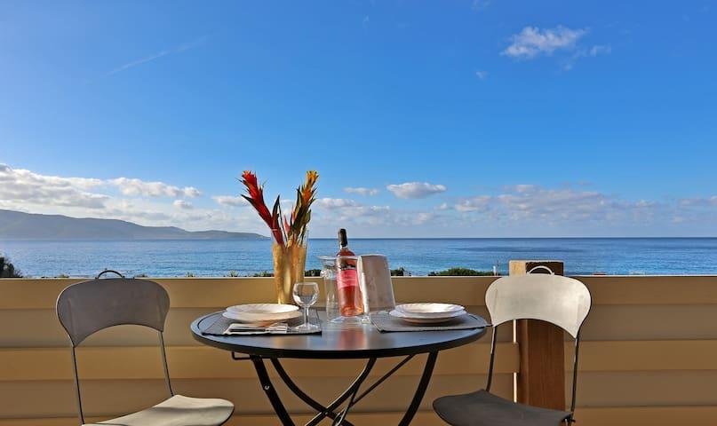 Asphodèle 2 vue panoramique sur la mer