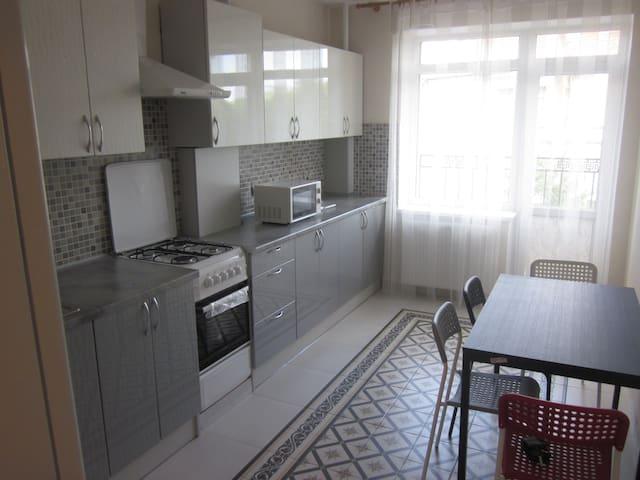 2-х комнатная квартира, 58 кв. м, 2/8 эт - Pionerskiy - 公寓