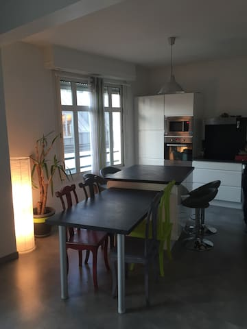 Loft cosy-Hypercentre Pau-Parking - Pau - Byt