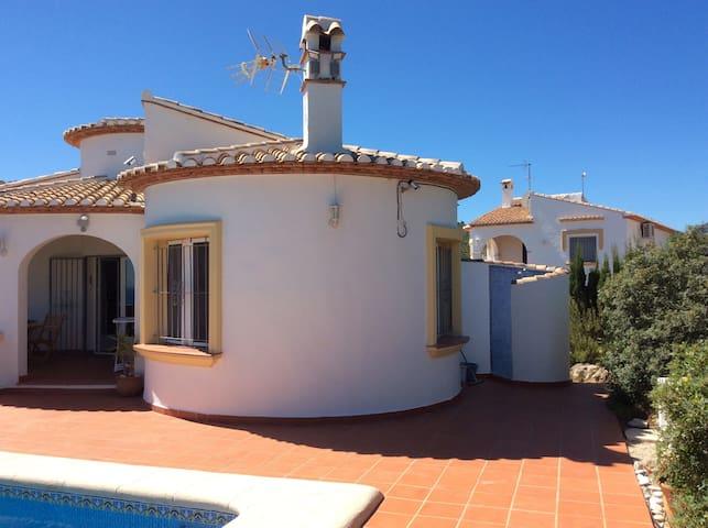 Studio vue mer piscine pres Denia - El Ràfol d'Almúnia - Daire