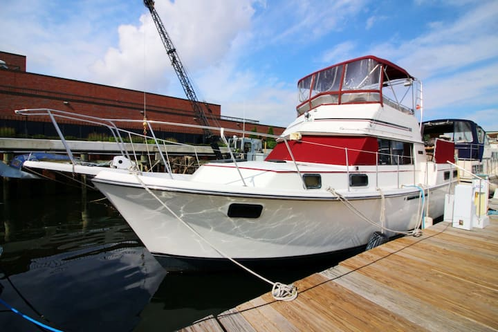 40ft Carver Motoryacht on Boston Freedom Trail - Boston - Boot