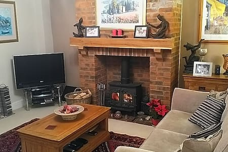Lovely double room in cosy renovated cottage