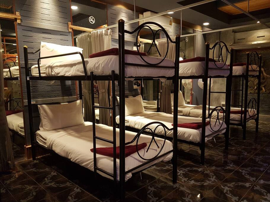 Comfortable male dormitory