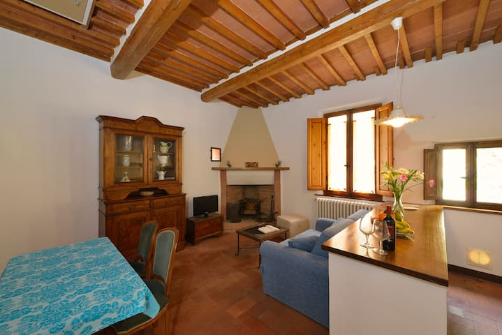 Mint Tea Apartment by the Fortress - Montepulciano