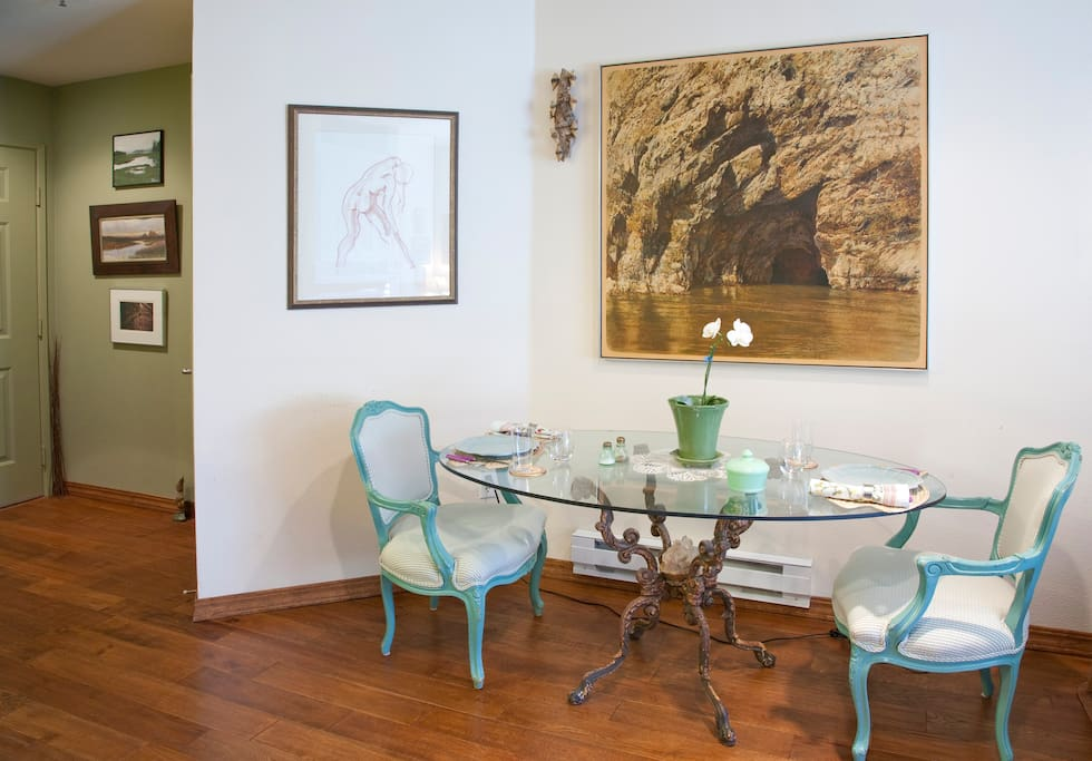 Charming dining area