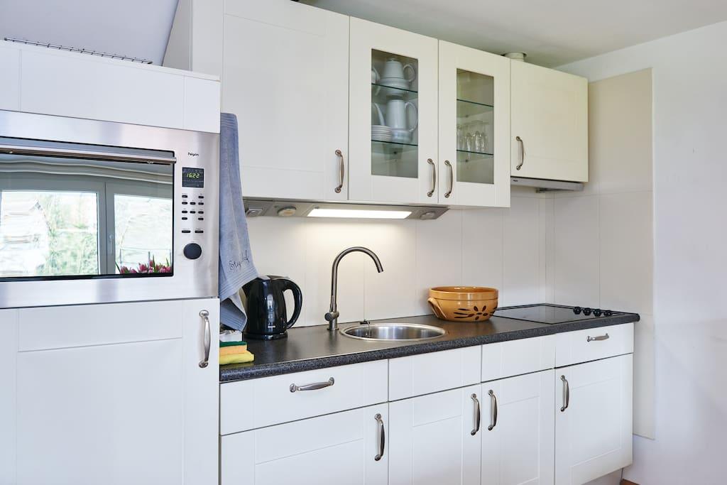 Keuken aanrecht 5 persoons appartement