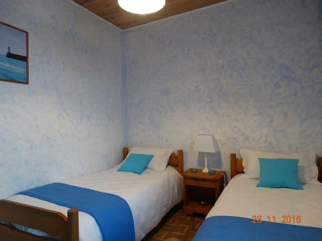 Chambre Bleue à Féole en Vendée (85) - La Réorthe - Rumah