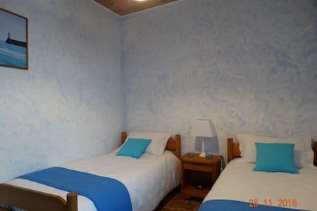 Chambre Bleue à Féole en Vendée (85) - La Réorthe - Casa