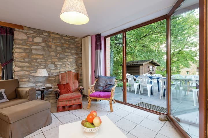 Maison de vacances avec belle vue, à Vielsalm