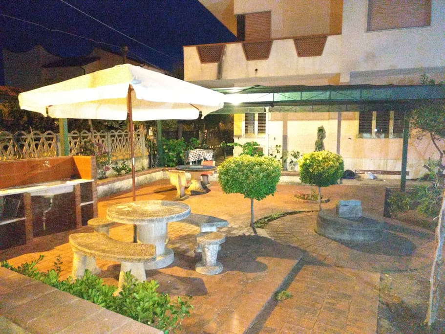 Outdoor area,  a place to relax