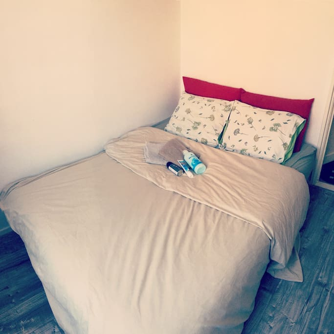 Bed for 2 persons