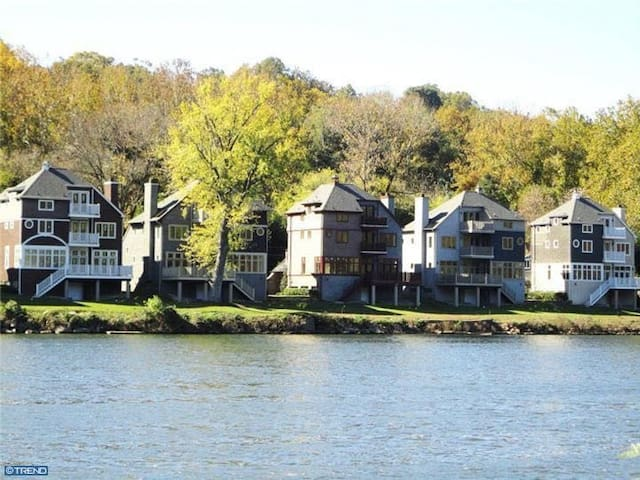 Large house, amazing river views - Gladwyne
