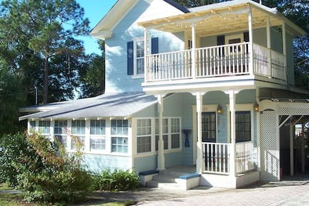 "Historic ""Tree house"" on Tremain. - Mount Dora - Casa de campo"