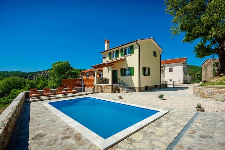 Villa Daus in Heart of Istria - Cerovlje