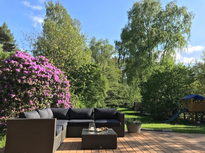 Traumhaus mit Garten in Hamburgs grünem Norden