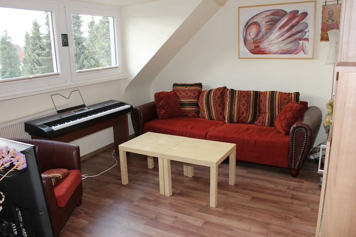 2 room flat in the south (15 min. to city center)