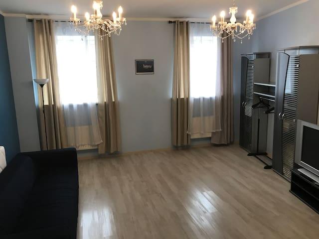 Riverside Promenade Apartment in Riga