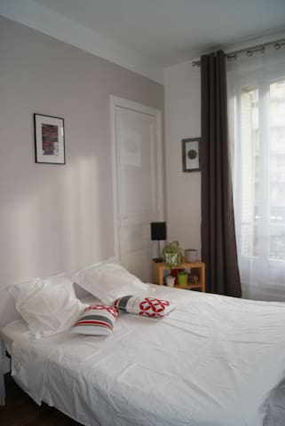 Nice bedroom 10mn from Paris Center - Vincennes - Apartment