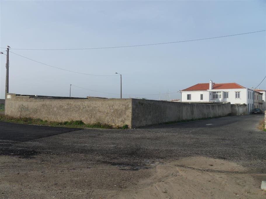 the house on the right is Casa Sao Vicente and on the left Casa Boa Viagem.
