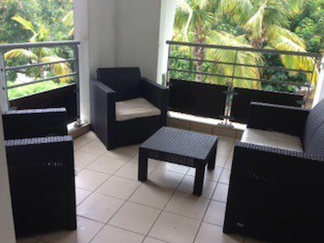 Charmant t 2 pour vos vacances - Boucan Canot - Apartament