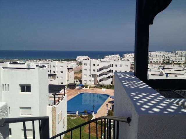 Charming Penthouse. Sea/mountain vw - Tetouan - Apartament