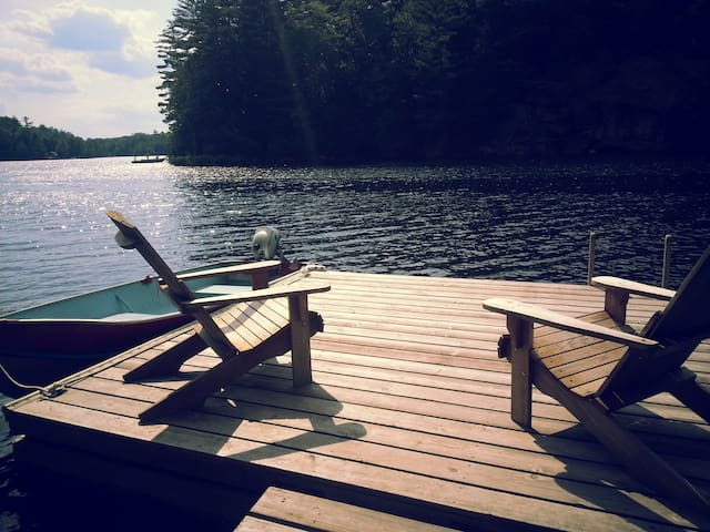 Lakefront cabin 35 mins from Ottawa - Val-des-Monts - Cottage