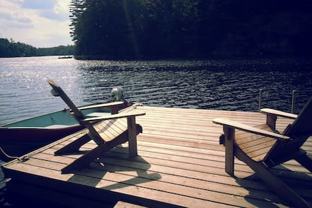Lakefront cabin 35 mins from Ottawa - Val-des-Monts - Chatka