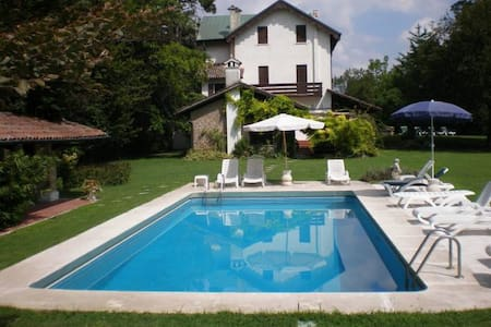 Charming villa with garden, pool and tennis court - Torreglia