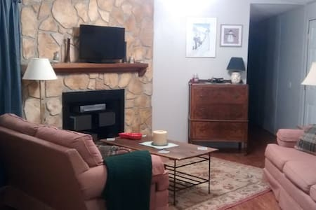 Charming abode-cozy, clean and convenient to Okemo - Mount Holly - Rumah Tamu