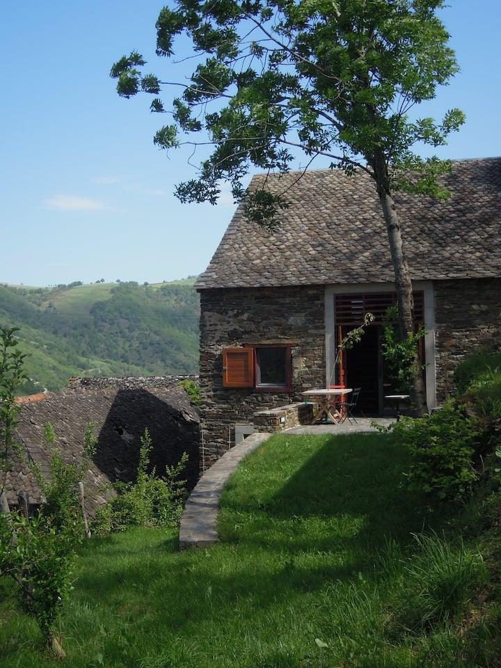 Maison avec vue sur la Truyère