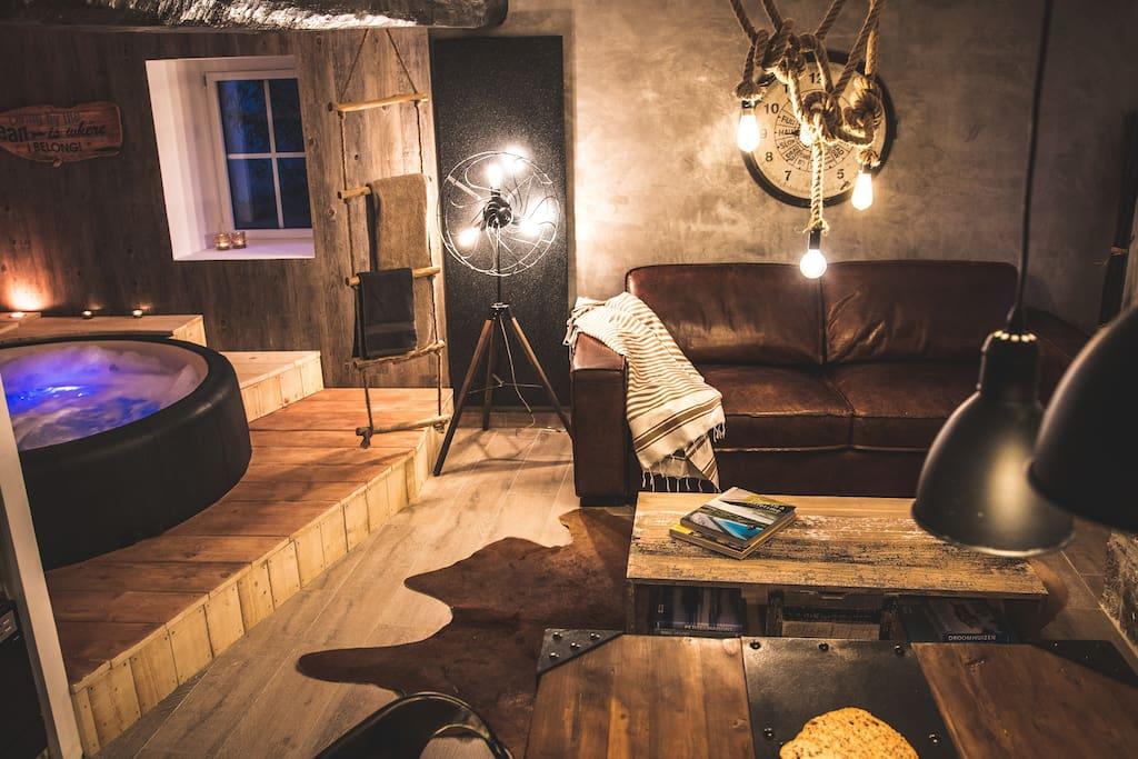 Sayena Guest House & Spa La Baule - Location de vacances avec jacuzzi privatif