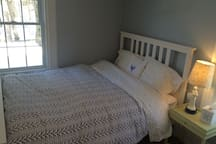 View of the double bed in the 3rd bedroom on the 2nd Floor.