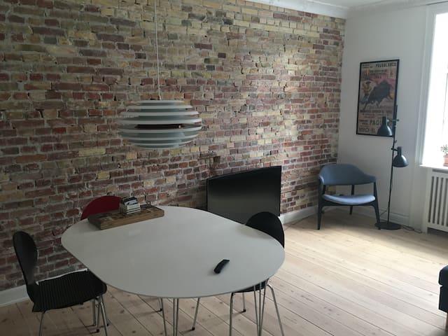 Copenhagen apartment for rent.